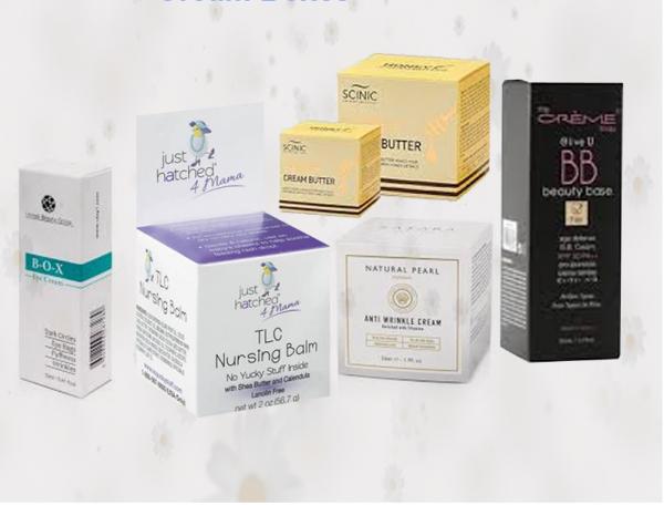 Cream Butter Boxes Wholesale