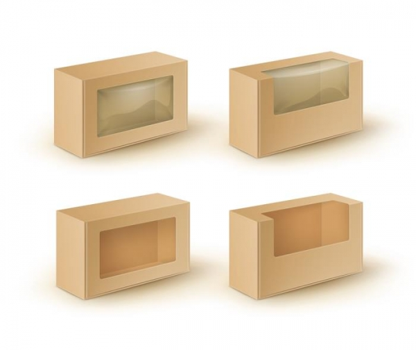 custom window packaging boxes